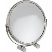 Merkloos Make up spiegeltje op standaard 18.5 cm