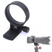 iShoot Soporte de Anillo de trípode para Lente Tamron SP 70-200 mm f/2.8 Di VC USD G2 (de Nikon F y Canon EF), Placa de liberación rápida incorporada Tipo Arca 65 mm para Cabeza de trípode Arca-Swiss