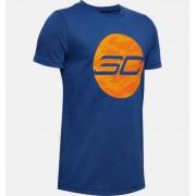 Under Armour Jongens T-shirt SC30™ HD Logo - Boys - Blue - Grootte: YM