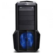 Кутия за настолен компютър zalman z11 plus, черна, zm-z11_plus_blue_vz