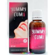 Yummy Cum Sperma Növelő és Sperma Íz Javító cseppek 30 ml