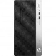 PC HP ProDesk 400 G6, 7EM15EA, Micro tower, Intel Core i5 9500 6C/6T, 512GB SSD, 16GB, Intel UHD 630, Windows 10 Professional, crna, 12mj, Tipk., Miš