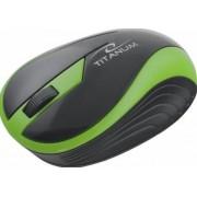 Mouse Esperanza Titanum Butterfly, Wireless (Verde)
