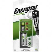 Energizer Chargeur Energizer Mini avec 2 piles AA 2000mAh