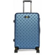 CAT Cargo Industrial Plate ABS 92 Liters Hard Sided Suitcase Check-in Luggage - 28 inch(Blue)