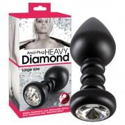 Diamond - nagy, alumínium análkúp (fekete)