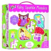Set creativ pentru copii Galt Mozaic Fairy Friends, dezvolta creativitatea si dexteritatea