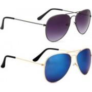 John Dior Aviator, Aviator Sunglasses(For Boys & Girls)