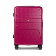 Reize Trooper 78 cm magenta burst suitcase