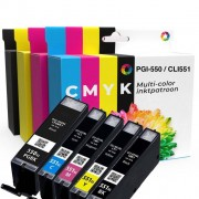 Canon Pixma MG5550 inkt cartridge 5-pack multi-color