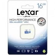 Lexar MicroSDHC 16GB UHS-I 300X, 45MB/s