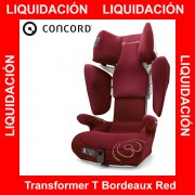 Concord Transformer T Bordeaux Red silla auto G 2 3