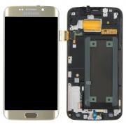 Samsung Galaxy S6 Edge LCD + Touchscreen - Goud voor Samsung Galaxy S6 Edge SM-G925F