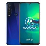 "Telefon Mobil Motorola XT2019-1 Moto G8 Plus, Procesor Octa-Core Snapdragon 665, LTPS IPS LCD capacitive touchscreen 6.3"", 4GB RAM, 64GB Flash, Camera Tripla 48+16+5MP, Wi-Fi, 4G, Dual Sim, Android (Albastru)"