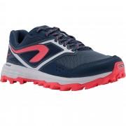 Evadict Chaussure de trail running pour femme XT7 bleue foncé et rose - Evadict - 37,5