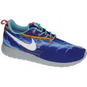 Nike Rosherun Print Gs Blue