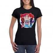 Toppers official merchandise Zwart Toppers in concert 2019 officieel t-shirt dames