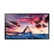 "Samsung Monitor 24"" Samsung Ls24f350fhuxen / S24f350fhu Led Full Hd Hdmi Nero Refurbished Senza Base"
