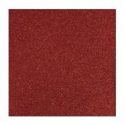 Rayher hobby materialen Glitter papier rood vel