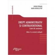 Drept administrativ si contraventional. Caiet de seminarii