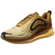 Nike Air MAX 720 Ao2924-700 para Hombre, Wheat/Black-Club Gold, 9 M US