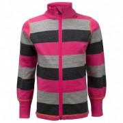 Ulvang - Kid's Flint Jacket - Veste en laine taille 4Y, rose/noir/gris