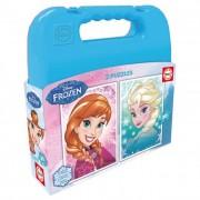 Educa Disney Jégvarázs puzzle táskában, 2x20 darabos
