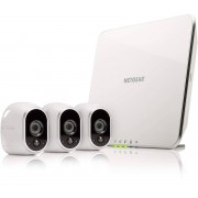 ARLO Smart Home 3 x HD Security Camera Kit 100% Wire-Free Indoor Ou...