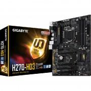 Placa de baza GIGABYTE GA-H270-HD3, socket 1151, 4 x DDR4, 6 x SATA3, ATX