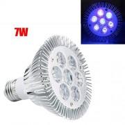 FidgetFidget Luces E27 7 W Ultravioleta UV Foco esterilización germicida lámpara Foco Ok