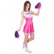 Disfraz de animadora rosa Cheers mujer L