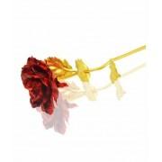 Trandafir placat cu aur cutie lux