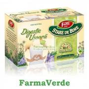 Ceai Digestie Usoara 20 dz Fares