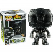Funko Pop Black Ranger Teleporting Morphing Sticker Power Rangers