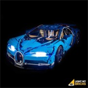 LIGHT MY BRICKS Kit for 42083 Bugatti Chiron