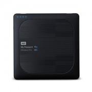 WD My Passport Wireless Pro 3TB Schwarz - externe Festplatte, USB 3.0 Micro-B und WLAN ac
