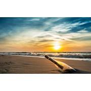 RENWUANG Rompecabezas De 1000 Piezas Patrón De Botella De Deriva En La Playa De Sunset Difíciles Rompecabezas De 1000 Piezas para Adultos, Niños Y Adolescentes