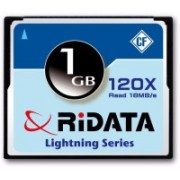 RiData Camera 1 GB Compact Flash Class 4 18 MB/s Memory Card