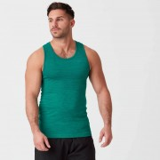 Myprotein Camiseta de tirantes sin costuras Sculpt - S - Verde