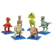 Dinosaurs Toys, Take Apart Toys Dinosaurs for Kids, (Pack of 6) - Construction Engineering Building Play Set, Dinosaur Building Blocks, Toys for 3,4,5 Year Old Boys, Gifts for Boys and Girls Age 6, 7