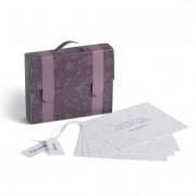 Invitación cajita maleta violet 7902
