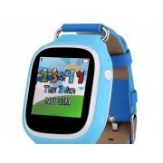 Ceas inteligent pentru copii POPI Bleu cu telefon GPS WIFI touchscreen monitorizare spion