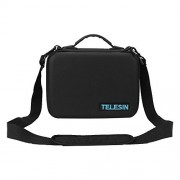 TELESIN Universal Storage Carrying Case Hard Protective Handheld Travel Carry Case Shoulder Bag BackPack Suitcase for DJI Mavic,DJI Spark and Accessories