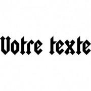 Stickers Muraux Stickers texte personnalisé