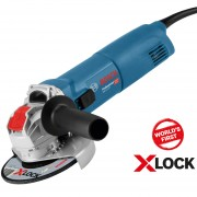 BOSCH GWX 10-125 Polizor unghiular 1000 W, diametru disc 125 cu X-LOCK