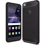 Husa telefon hs case HS TPU SOLID Huawei P8 / P9 Lite negru 2017