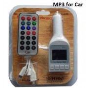 Car Charge MP3/FM Modulator With Remote
