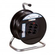 Plastic cable drum for indoors, 40 m