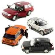 Set of 4: 5 Range Rover Sport SUV 1:38 Scale (Black/Orange/Red/Silver)