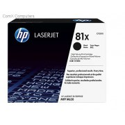 HP 81X Black Toner High Yield